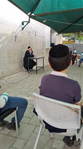 הרב יהודה שיש מנהל מוסדות חורב בשיחה על פרשת השבוע