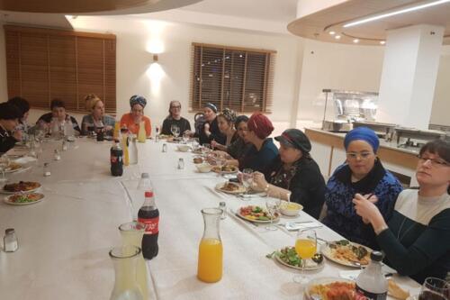 צוות מחלקת נשים נתניה 10/12/2019