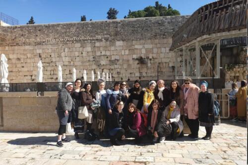 צוות יולדות ב' יום גיבוש ירושלים - 12/2/2020